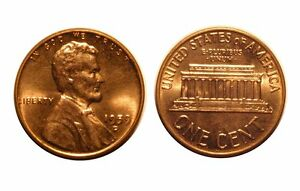 1959 D/D  LINCOLN CENT   CONECA  RPM 006 6 CHOICE BU RED  7011