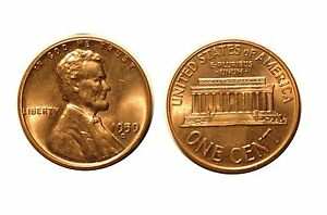 1959 D  LINCOLN CENT   RPM 003 3 CHOICE BU RED  530