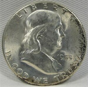 Click now to see the BUY IT NOW Price! 1953 S FRANKLIN HALF DOLLAR 80  FBL AE727