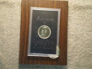 1974 S PROOF IKE SILVER DOLLAR/ BROWN PAK