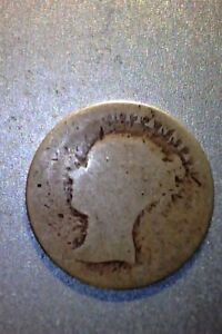 1840  NICE GREAT BRITAIN 4 PENCE 92.5  MINTAGE 1 497 000