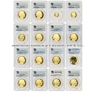 Click now to see the BUY IT NOW Price! COMPLETE PROOF SET OF 16 2006 W TO 2017 W GOLD BUFFALO PCGS PR70DCAM W/FS