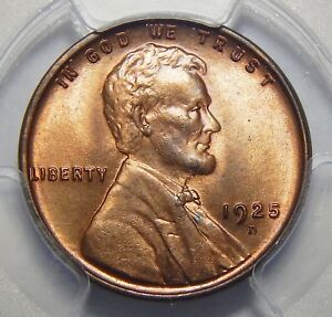 Click now to see the BUY IT NOW Price! 1925 D PCGS MS65RD LINCOLN WHEAT CENT
