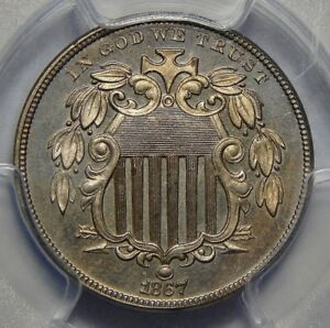 Click now to see the BUY IT NOW Price! 1867 PCGS PR65CAM SHIELD NICKEL W/RAYS