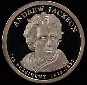 2008 S PRESIDENTIAL DOLLAR ANDREW JACKSON GEM DCAM PROOF UNCIRCULATED