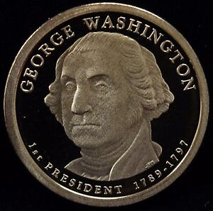 2007 S PRESIDENTIAL DOLLAR GEORGE WASHINGTON GEM DCAM PROOF UNCIRCULATED