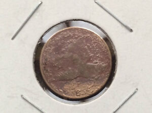 1858 FLYING EAGLE ONE CENT U.S. COIN D9604