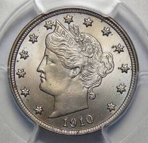 Click now to see the BUY IT NOW Price! 1910 PCGS MS66 LIBERTY NICKEL