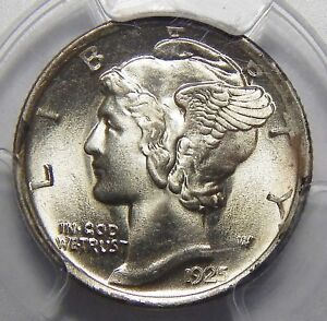 Click now to see the BUY IT NOW Price! 1925 D PCGS MS66FB MERCURY DIME