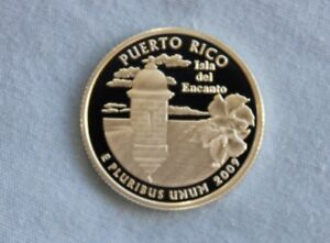 2009 S PUERTO RICO SILVER PROOF US TERRITORIES ULTRA DEEP CAMEO