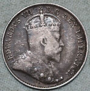 1904 CANADA SILVER 5 CENT COIN  COMBINED S. & H.