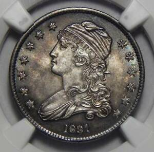 Click now to see the BUY IT NOW Price! 1831 NGC MS65 LARGE LETTERS CAPPED BUST QUARTER