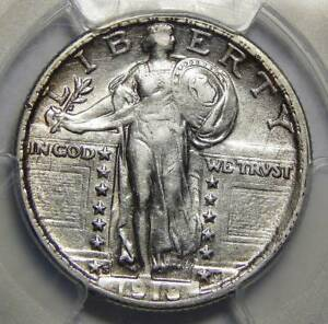 Click now to see the BUY IT NOW Price! 1918/7 S PCGS AU53 STANDING LIBERTY QUARTER