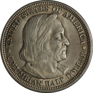 1892 COLUMBIA COMMEM HALF DOLLAR GREAT DEALS FROM THE EXECUTIVE COIN COMPANY