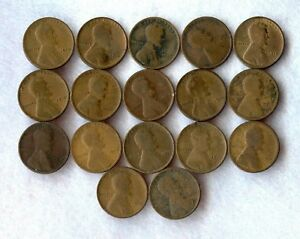 1912   LINCOLN WHEAT CENT S    AG   12 COINS
