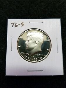 1976 S US PROOF KENNEDY HALF DOLLAR FROM US PROOF SET