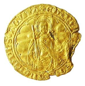 Click now to see the BUY IT NOW Price!  1368 MEDIEVAL ANGLO GALLIC GOLD HARDI D'OR EDWARD BLACK PRINCE AQUITAINE