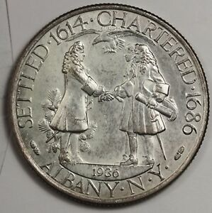 1936 ALBANY N.Y. HALF.  COMMEMORATIVE.  ORIGINAL B.U.  118668