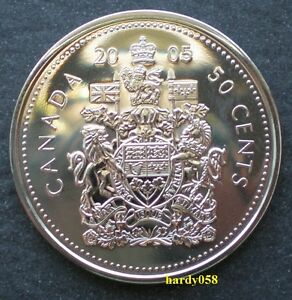 2005 P PROOF LIKE 50 CENTS   BRILLIANT UNCIRCULATED