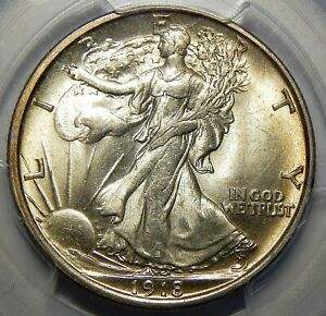 Click now to see the BUY IT NOW Price! 1918 D PCGS MS65 WALKING LIBERTY HALF DOLLAR