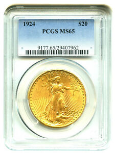 Click now to see the BUY IT NOW Price! TWENTY  20  $20 SAINT GAUDENS PCGS MS65 PRE 1933 US DOUBLE EAGLES   FREE SHIP