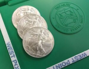 Click now to see the BUY IT NOW Price! 5 000 AMERICAN SILVER EAGLES   2019 IN STOCK   TEN  10  SEALED MONSTER BOXES