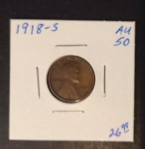 1918 S 1C LINCOLN CENT