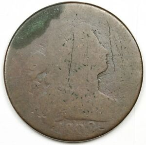 1802 LARGE CENT.  CIRCULATED.  126571