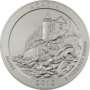 Click now to see the BUY IT NOW Price! 2012 P US AMERICA THE BEAUTIFUL FIVE OUNCE SILVER UNCIRCULATED COIN   ACADIA