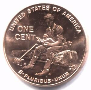 U.S. 2009 P LINCOLN RAIL SPLITTER BICENTENNIAL PENNY UNCIRCULATED ONE CENT COIN