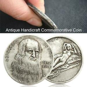 COIN CRAFTS COMMEMORATIVE COIN EXQUISITE HANDMADE CHARACTER PATTERN COLLECTIVE