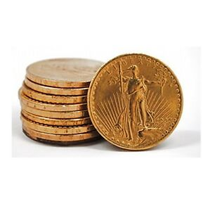 Click now to see the BUY IT NOW Price! FIFTY  50  SAINT GAUDENS PRE 1933 US GOLD $20 DOUBLE EAGLES