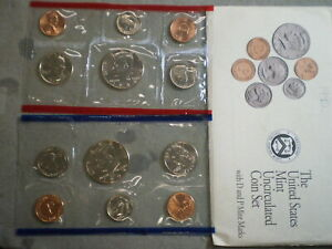 1992 UNITED STATES UNCIRCULATED MINT SET IN ORIGINAL ENVELOPE    UNCERTIFIED