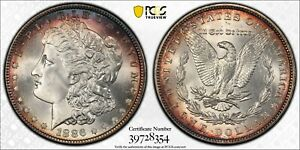 Click now to see the BUY IT NOW Price! 1886 PCGS MS68 MORGAN DOLLAR   STUNNING