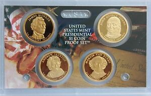 2008 S PRESIDENTIAL PROOF DOLLAR SET  GEM CAMEO    NO BOX OR COA