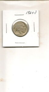 1924 P BUFFALO NICKEL COIN  3Q19 53