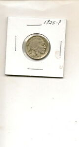 1925 P BUFFALO NICKEL COIN  3Q19 61