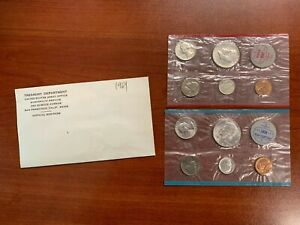 1964 P&D US MINT SILVER UNCIRCULATED SET.  IN THE ENVELOPE OF ISSUE.
