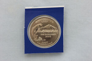 2007 P WASHINGTON STATE QUARTER UNCIRCULATED IN MINT HOLDER  8541