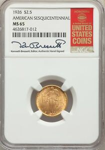 Click now to see the BUY IT NOW Price! 1926 US GOLD $2.50 SESQUICENTENNIAL OF AMERICAN INDEPENDENCE   NGC MS65