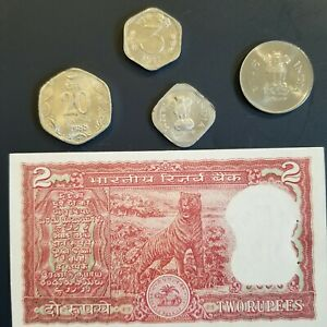 INDIA LOT COINS CURRENCY