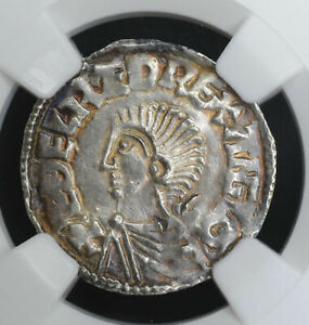 Click now to see the BUY IT NOW Price! GREAT BRITAIN 1D PENNY 978 1016 AU58 NGC SILVER S1151 ANGLO SAXON AETHELRED II
