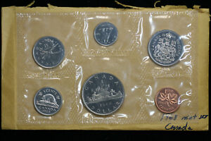 1968 CANADA UNCIRCULATED MINT SET ORIGINAL PACKAGING