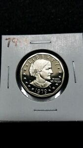 1979 S US CAMEO PROOF SUSAN B ANTHONY DOLLAR FROM US PROOF SET