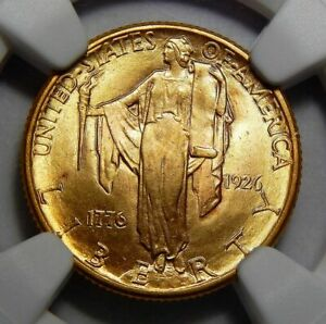 Click now to see the BUY IT NOW Price! 1926 NGC MS66 SESQUICENTENNIAL $2.50 GOLD COMMEMORATIVE