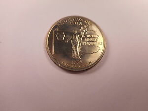 1999 D WASHINGTON QUARTER PENNSYLVANIA COLLECTOR GRADE ALBUM COIN    110418