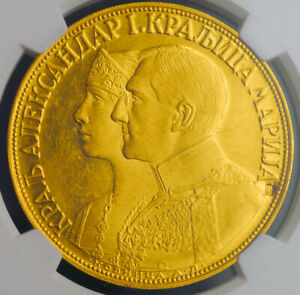 Click now to see the BUY IT NOW Price! 1932 YUGOSLAVIA KING ALEXANDER I. GOLD 4 DUCAT  4 DUKATA .   NGC MS 61
