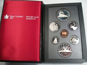 1986 CANADIAN VANCOUVER PROOF SET. CANADA.  128