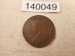 1936 NEWFOUNDLAND LARGE ONE CENT NICE COLLECTOR COLLECTOR ALBUM COIN    140049