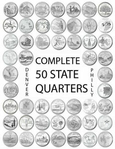 1999   2008 P  ANY STATE QUARTER PHILLY MINT UNCIRCULATED  YOU CHOOSE ONE STATE